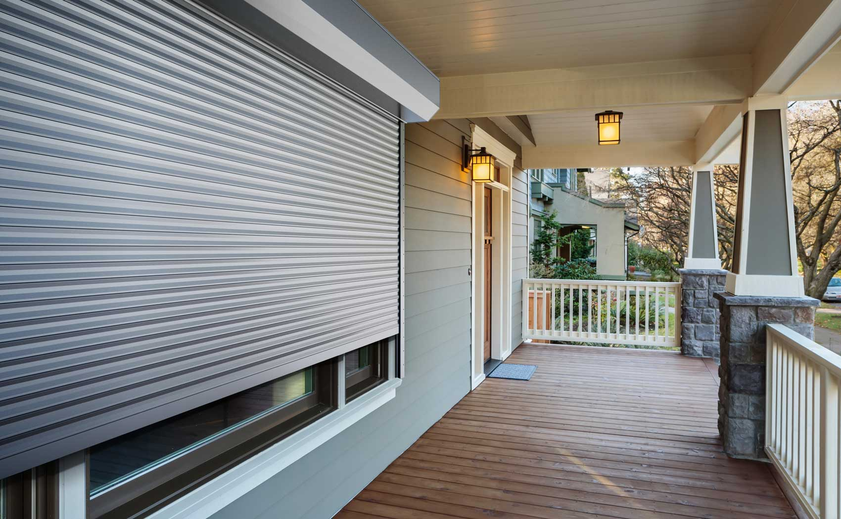 Roll Down Hurricane Shutters Storm Protection Heroal