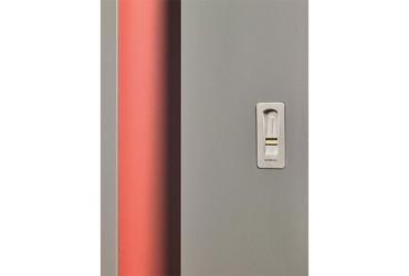 Le Corbusier Haustuer - Detailansicht Fingerprint