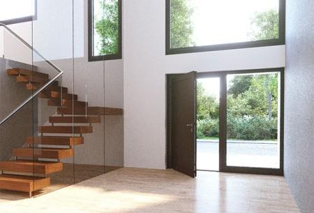 heroal_Architektenhaus_Le Corbusier_Haustür_Milieu innen