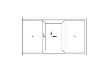 Terrassen-Schiebetuer-Skizze-ein-beweglicher-Fluegel-mittig