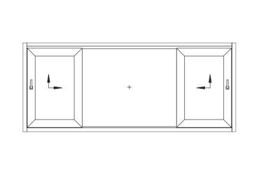 Terrassen-Schiebetuer-Skizze-zwei-bewegliche-Fluegel-nach-innen-oeffnend