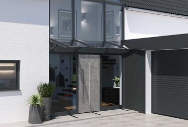 Terrassenueberdachungen-freistehendes-Haus-mit-Vordach