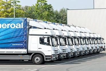 Einbruchschutz-LKW-Flotte