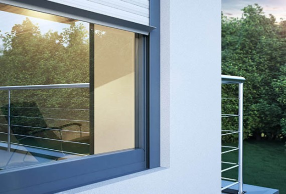 Schallschutz-Detailansicht Fenster
