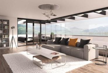 Terrassentuer-Wohnzimmer-mit-Schiebetuer