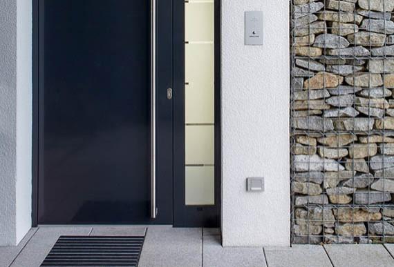 Schallschutz-Schallschutztuer-Hauseingang