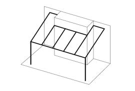 Ueberdachungen-Strichzeichnung-Terrassenueberdachung-mit-Einbau-mittig