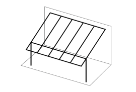 Ueberdachungen-Strichzeichnung-Terrassenueberdachung-ueberstehend