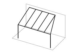 Ueberdachungen-Strichzeichnung-Terrassenueberdachung-angeschrägt-vorne