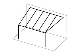 Ueberdachungen-Strichzeichnung-Terrassenueberdachung-angeschraegt-hinten