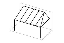 Ueberdachungen-Strichzeichnung-Terrassenueberdachung-mit-Abschrägung-rechts