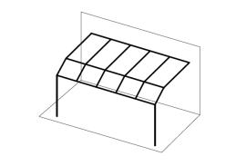 Ueberdachungen-Strichzeichnung-Terrassenuberdachung-kurzes-Pultdach