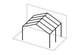 Ueberdachungen-Strichzeichnung-Terrassenueberdachung-Satteldach