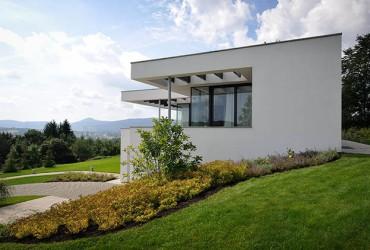 Aluminium Haustueren-Passivhaus