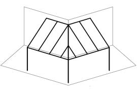 Ueberdachungen-Strichzeichnung-Terrassenueberdachung-um-eine-Ecke