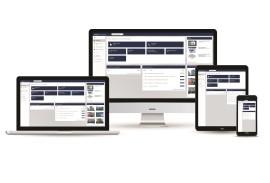 Architektenberatung-Online Arbeitsplatz-Laptop PC Tablet und Smarphone mit Communicator Bildschirm