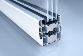 Aluminium Fenster-Fensterschnitt W 72 RL