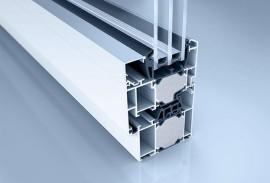 Aluminium Fenster-Fensterschnitt W 72