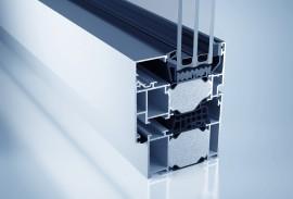 Aluminium Fenster-Fensterschnitt W 77 HI