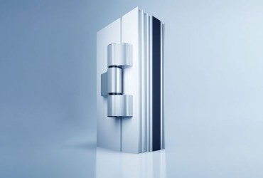 Aluminium Haustueren-Tuerbaender-Aufsatztuerband-freistehend