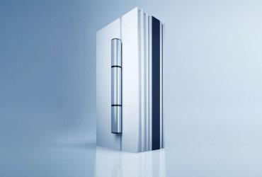 Aluminium Haustueren-Rollentuerband-freistehend