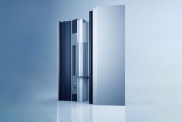 Aluminium Haustueren-Tuerbaender-verdeckt-liegendes-Tuerband-freistehend