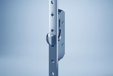 Aluminium Haustueren-mechanische-Schlosskomponente-freistehend