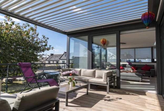 terrassen berdachung der natur ein st ck n her heroal. Black Bedroom Furniture Sets. Home Design Ideas