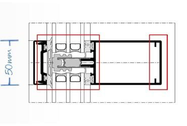 Objektloesungen-Schnittzeichnung für designangepasste Veraenderungsmoeglichkeiten