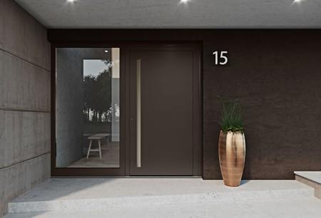 heroal Les Couleurs Le Corbusier front door