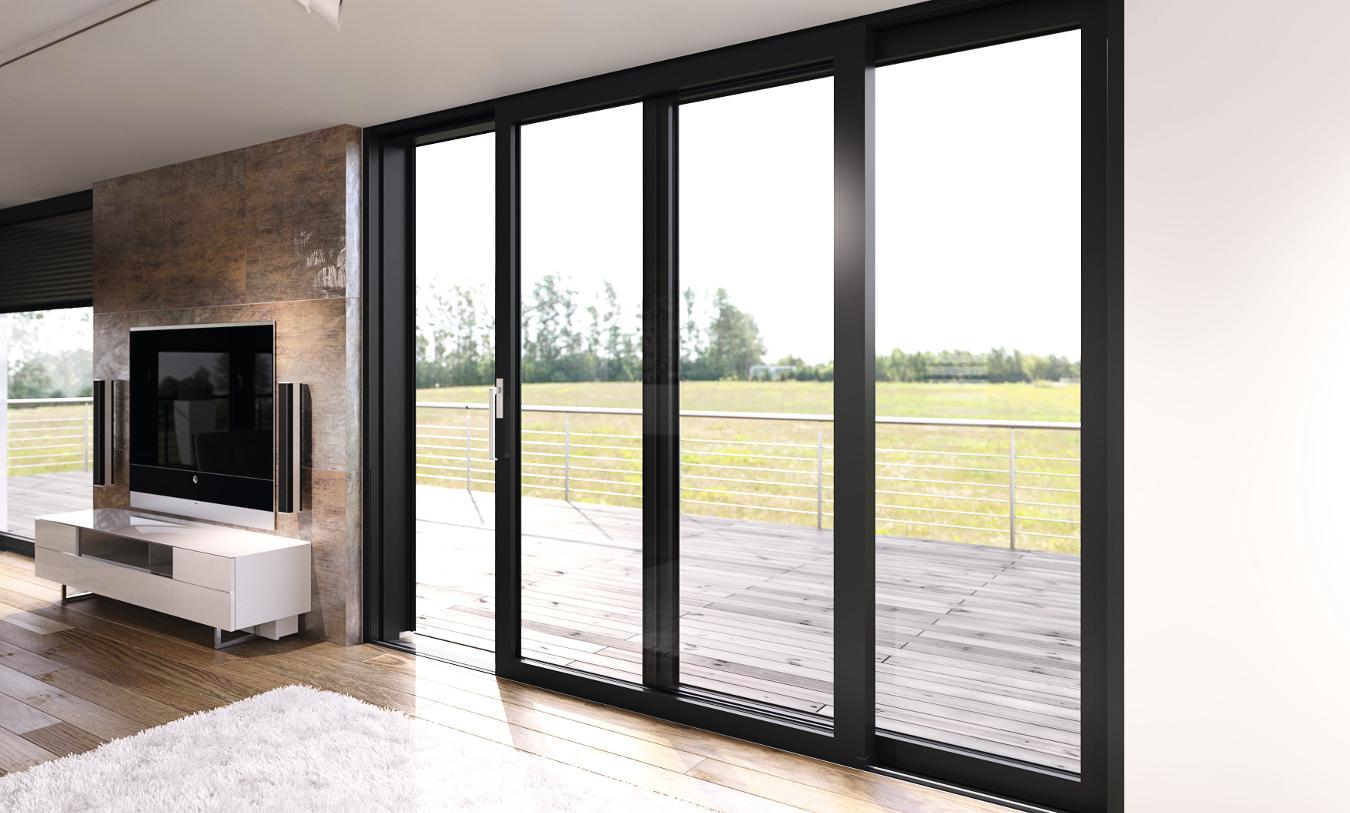terrassent ren designvielfalt aus aluminium heroal. Black Bedroom Furniture Sets. Home Design Ideas