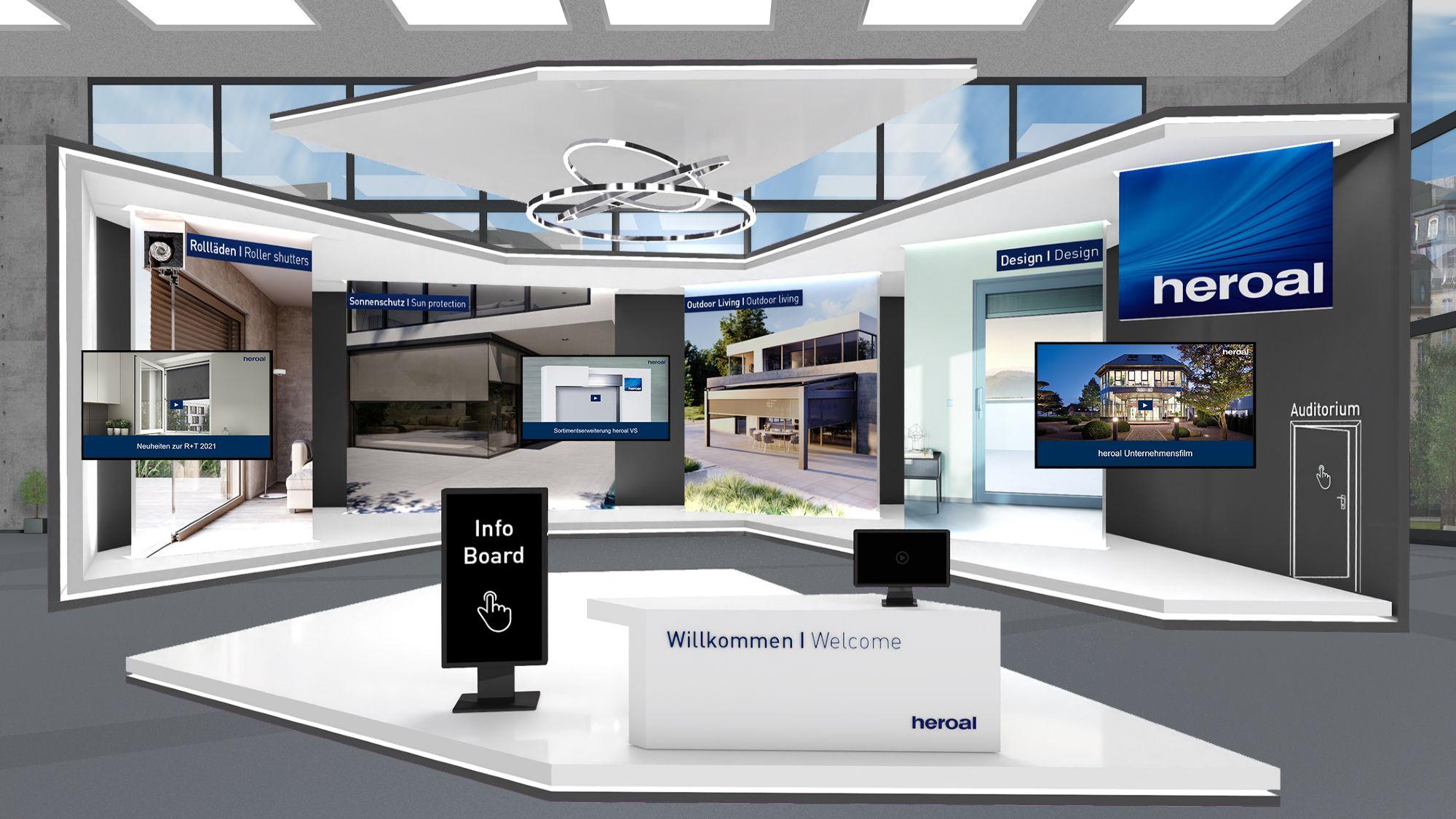 heroal Messestand-R+T digital 2021